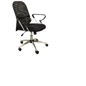 Cadeira encosto de tela Diretor Silver