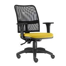 cadeira de tela encosto medio