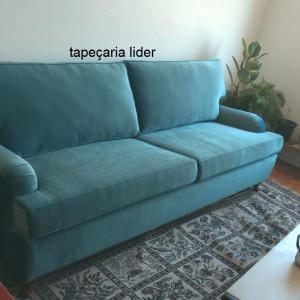 troca da espuma sofa