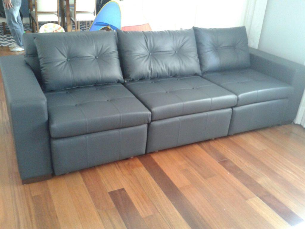 reforma de sofa couro legitimo