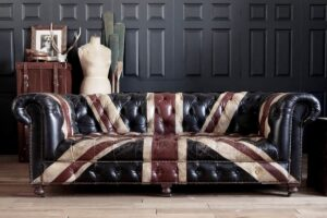 sofa com desenho